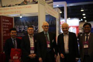 CAEL Team at CEE 2018 with Ambassador John McCallum.