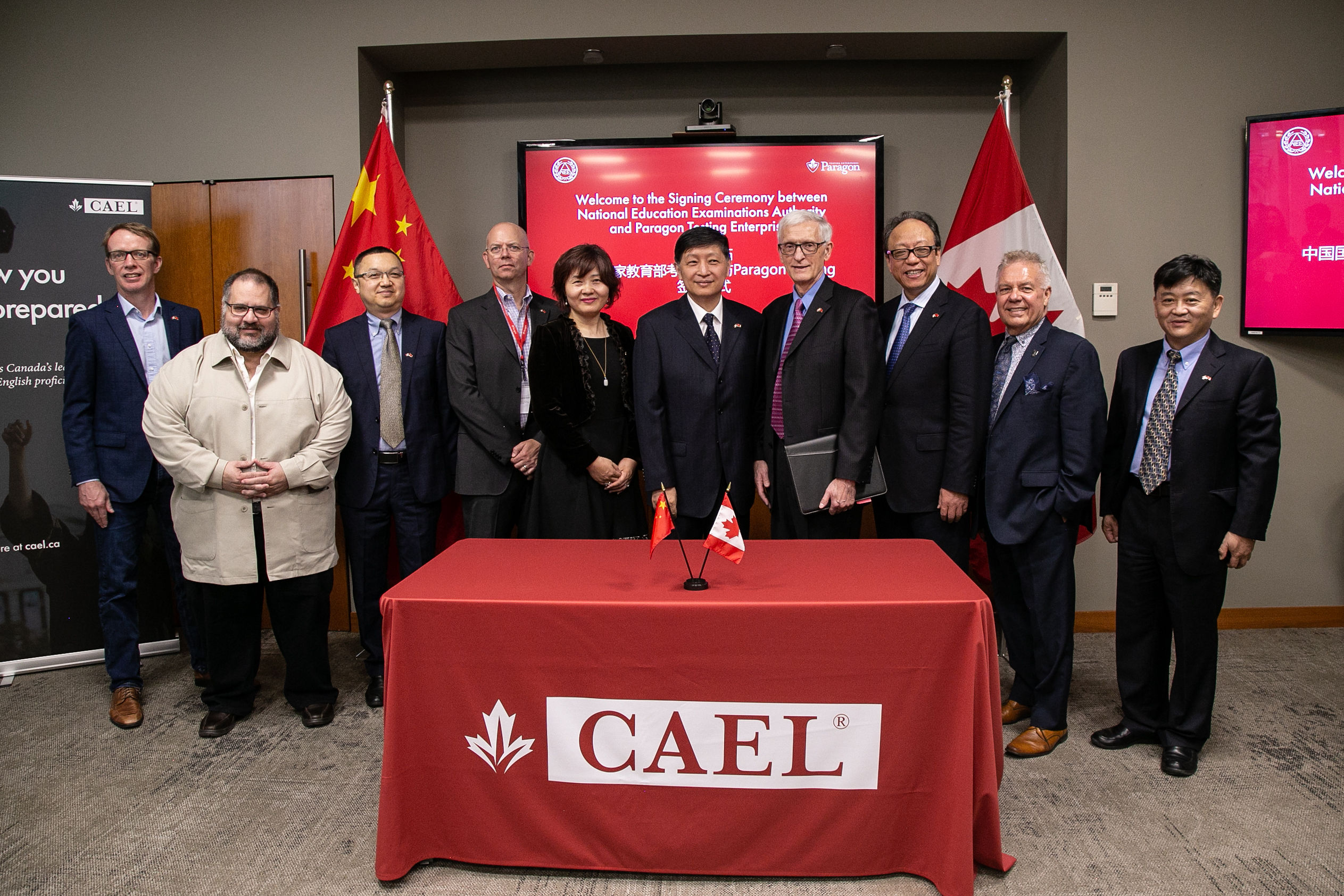 Paragon and NEEA Sign Agreement to Deliver CAEL CE in China